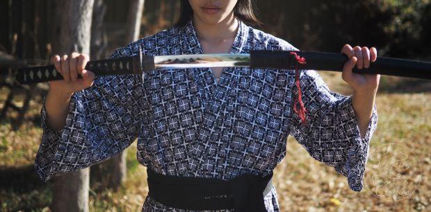 LOST IN ASIA: Japanese pseudo-samurai kimono